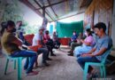 ECLIP from the PSWDO, DSWD, and DTI paid a visit to the five FRs of the Tupad Pangako Program in Barangay Malawanit, Magsaysay