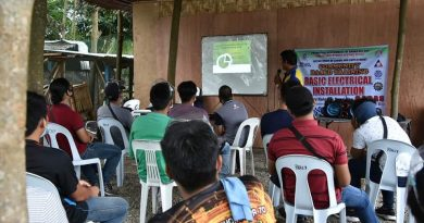Fifty-six Masonry Trainees Started Today At San Agustin, Digos City