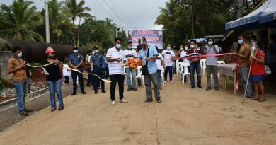 Turned Over 520-meter Concrete Road From Barangay Sibulan To Sitio Piping